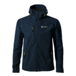 Sandstone Nano férfi softshell kabát - navy