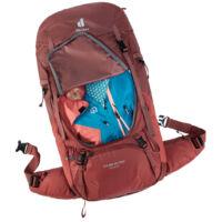 a hátizsák elején körbefutó cipzár segítségével könnyen hozzáférhetsz a hátizsák tartalmához