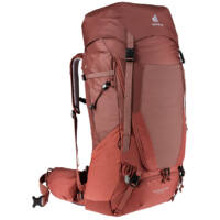 Deuter Futura Air Trek 55+10 SL női túrahátizsák - redwood-lava