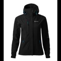 Sandstone Nano női softshell kabát - black