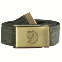 Fjallraven Canvas Brass Belt 3 cm mountain grey