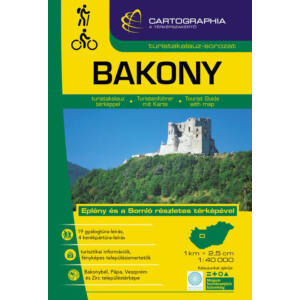 Cartographia Bakony turistakalauz