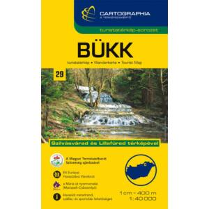 Cartographia Bükk turistatérkép