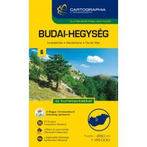 Cartographia Budai-hegység turistatérkép