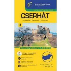 Cartographia Cserhát turistatérkép