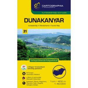 Cartographia Dunakanyar turistatérkép