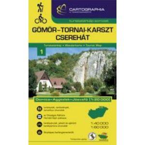 Cartographia Gömör-Tornai-karszt, Cserhát turistatérkép