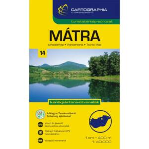 Cartographia Mátra turistatérkép