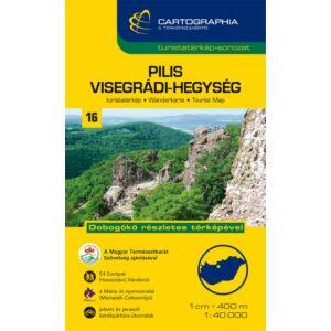 Cartographia Pilis és Visegrádi-hegység turistatérkép