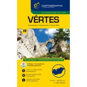 Cartographia Vértes turistatérkép