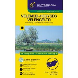 Cartographia Velencei-hegység, Velencei-tó turistatérkép