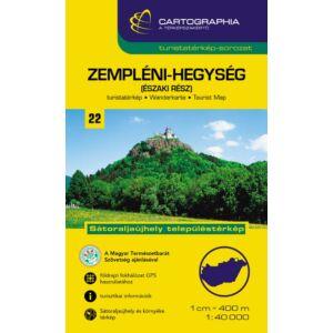 Cartographia Zempléni-hegység (északi rész) turistatérkép