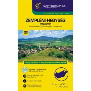 Cartographia Zempléni-hegység (déli rész) turistatérkép