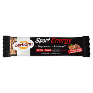 Cerbona Sport Energy Csokoládés-Mandulás müzliszelet 35g