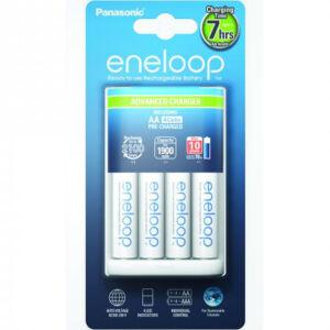 Eneloop Advanced Charger akkumulátor töltő + 4 db AA akkumulátor