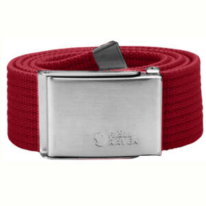 Fjallraven Canvas Belt deep red