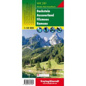 Freytag & Berndt Dachstein turistatérkép