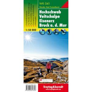 Freytag & Berndt Hochschwab turistatérkép