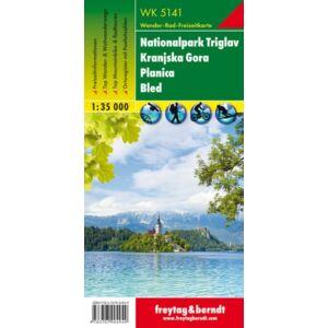Freytag & Berndt Nationalpark Triglav turistatérkép