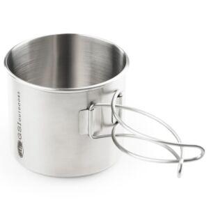 GSI Outdoors Glacier Stainless Bottle Cup 530 ml fém bögre