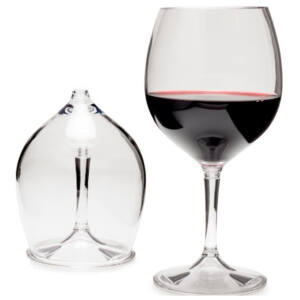 GSI Outdoors Nesting Red Wine Glass 445 ml műanyag borospohár
