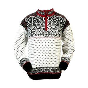 Icewear Baldur norvégmintás férfi pulóver