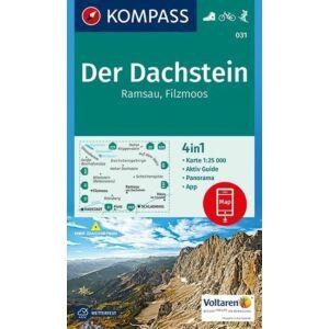Kompass Dachstein - Ramsau - Filzmoos turistatérkép