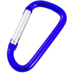 Rockland kulcstartó karabiner - blue