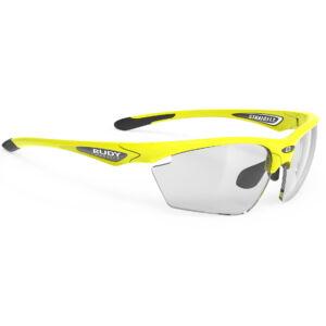 Rudy Project Stratofly Photocromic sportszemüveg - yellow fluo/impactX photocromic 2 black