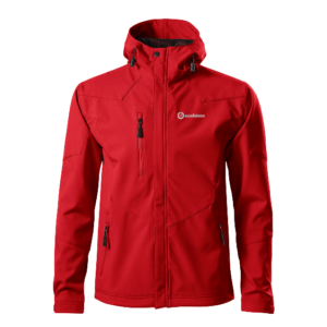 Sandstone Nano férfi softshell kabát - red