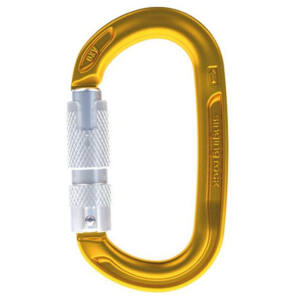 Singing Rock Oxy Triple Lock karabiner - gold