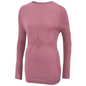 Subzero Merino Long Sleeve női gyapjú aláöltözet felső pink