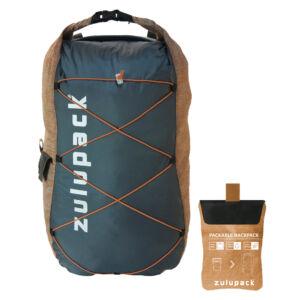 Zulupack Packable Backpack vízálló hátizsák - camel