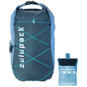 Zulupack Packable Backpack vízálló hátizsák - turquoise