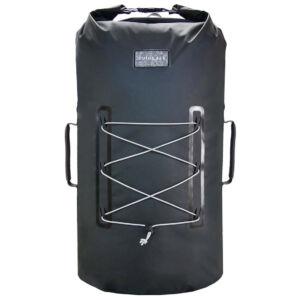 Zulupack Smart Tube 40 vízálló hátizsák - black