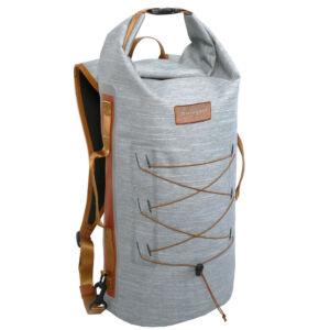 Zulupack Smart Tube 40 vízálló hátizsák - grey/camel