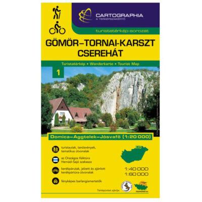Cartographia Gömör-Tornai-karszt turistakalauz