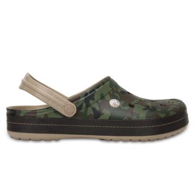 Crocs U Crocband Camo II Clog uniszex papucs
