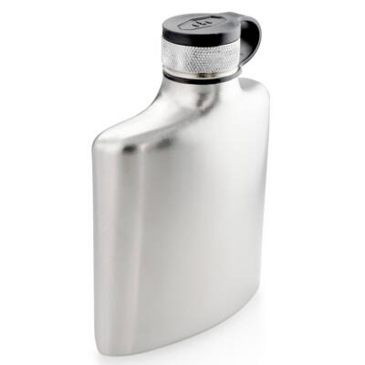 GSI Glacier Stainless Hip Flask 175 ml