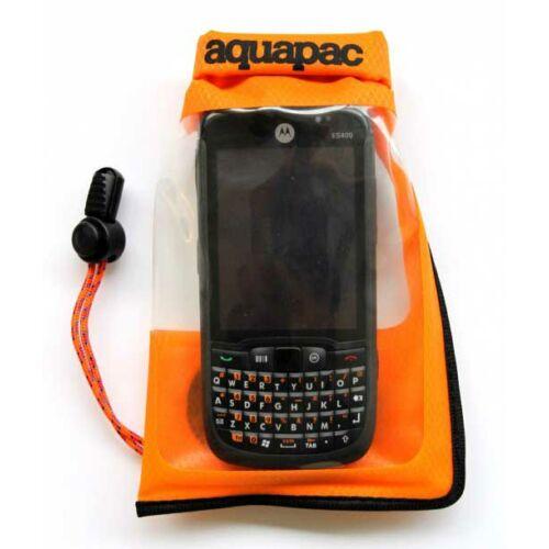Aquapac Small Stormproof Phone Case - orange