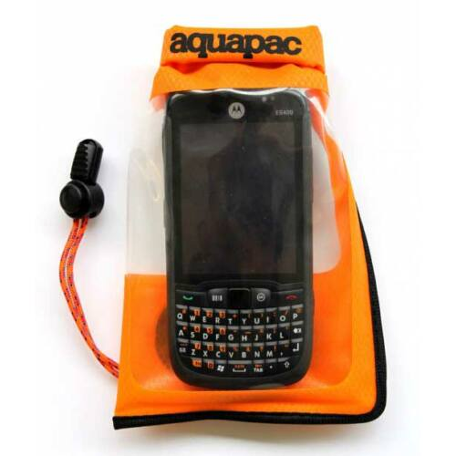 Aquapac Small Stormproof Phone Case - orange