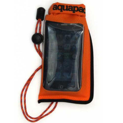 Aquapac Mini Stormproof Phone Case - orange