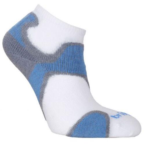 Bridgedale Coolfusion Run Speed Diva női futózokni - grey/blue