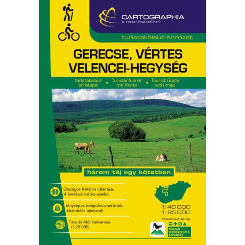 Cartographia Gerecse, Vértes, Velencei-hegység turistakalauz