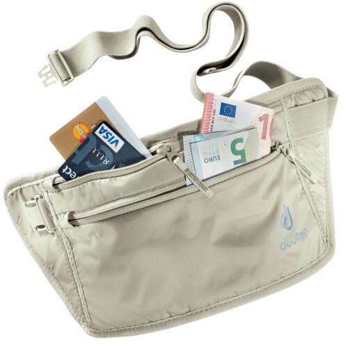 Deuter Security Money Belt II irattartó és pénztárca - sand