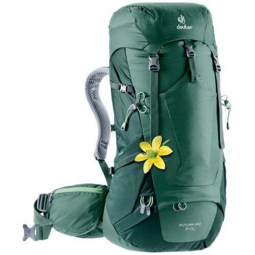 Deuter Futura Pro 34 SL női túrahátizsák - seagreen-forest