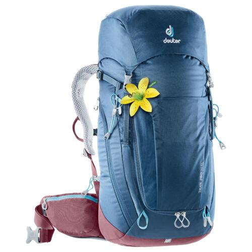 Deuter Trail Pro 34 SL női túrazsák midnight-maron