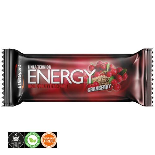 EthicSport Tecnica Energy Cranberry energiaszelet