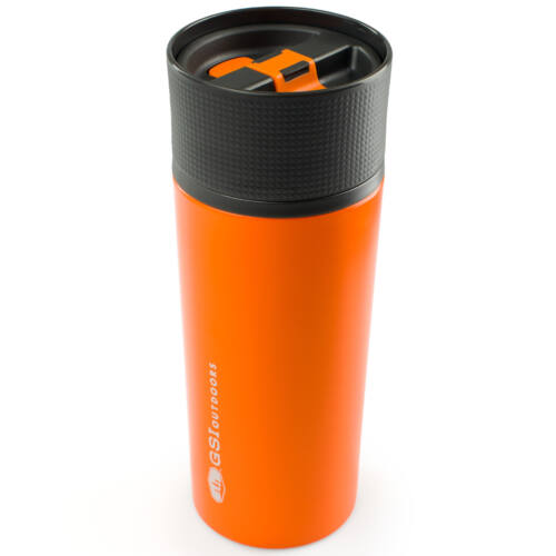 GSI Outdoors Glacier Stainless Commuter Mug 500 ml termobögre - orange