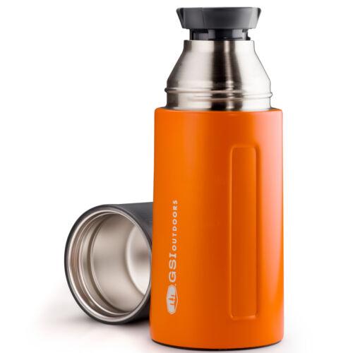 GSI Outdoors Glacier Stainless Vacuum Bottle 0,5 l termosz - orange
